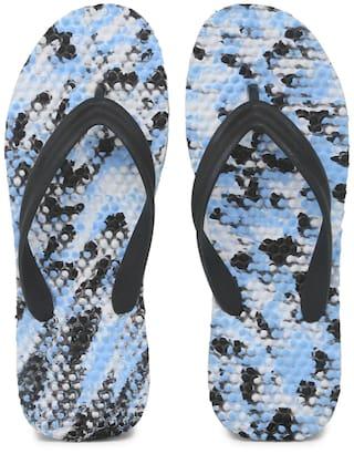 6c8cadd0e12f56 Hoppers GO Men Blue Outdoor Slippers   Flipflop