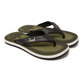 Hoppers GO Men Green Outdoor Slippers