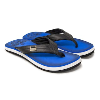 d9f0a9a7f0791c Buy Hoppers GO Men Blue Flipflop Online at Low Prices in India ...