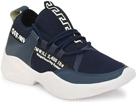 HUNDO P Men Running Shoes ( Blue )