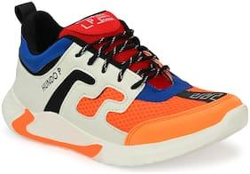 Sneakers Shoes For Men ( Orange )
