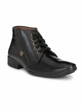 Ankle Boots For Men ( Black )