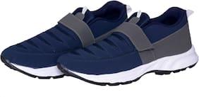 HUSH BERRY Men NEW FASHION Walking Shoes ( Blue )