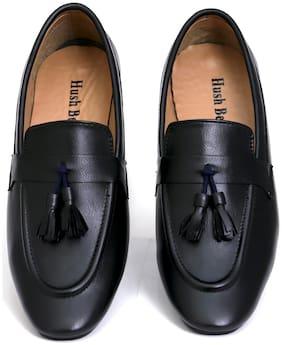 HUSH BERRY Men Black Loafer