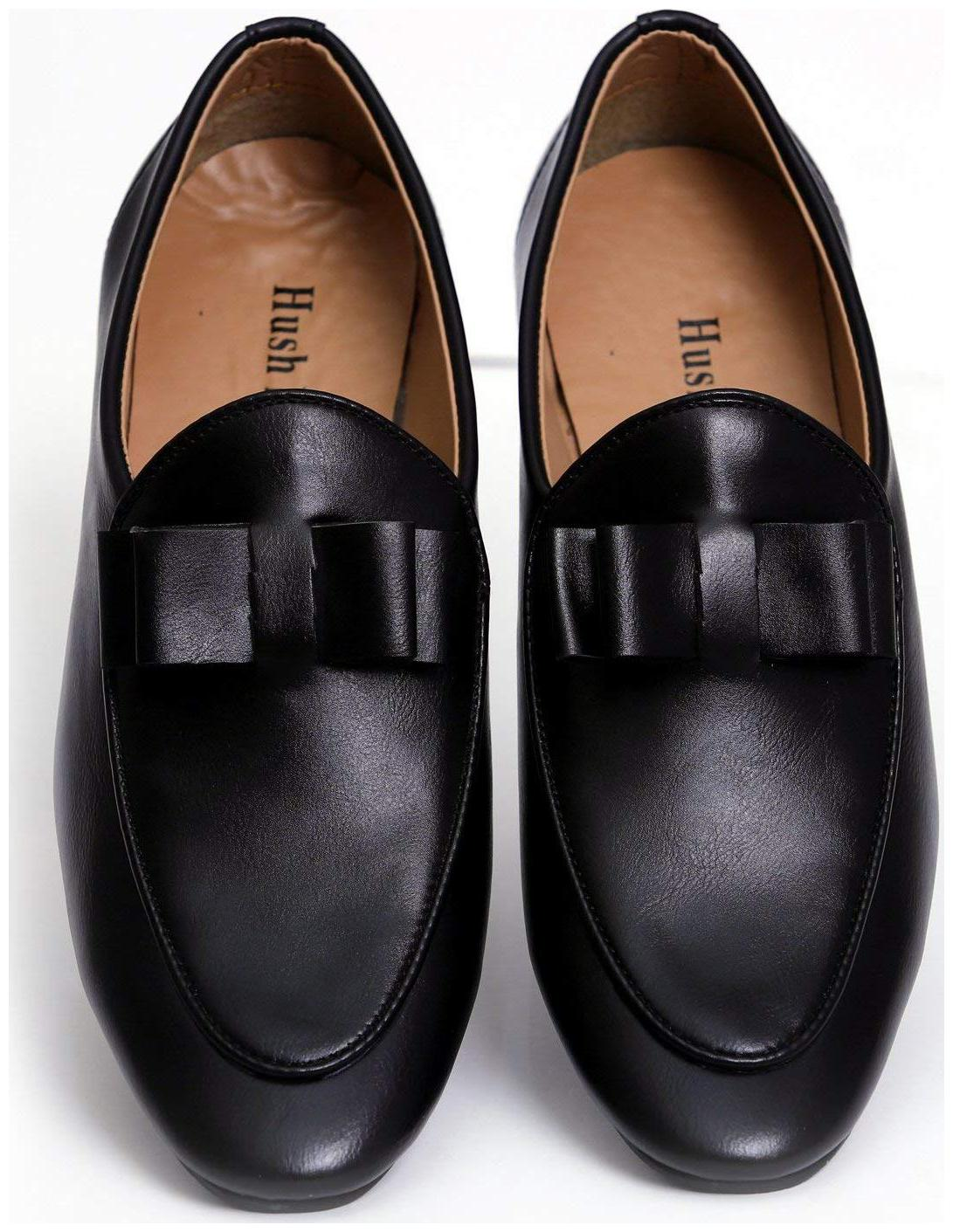 7d697db1b8e09 Buy HUSH BERRY Men Black Loafer Online at Low Prices in India -  Paytmmall.com