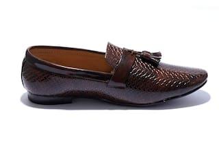 HUSH BERRY Men Brown Formal Shoes - Ptn
