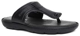 Hush Puppies Mens Black Slippers & Flip-Flops