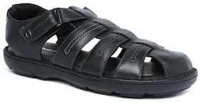 Hush Puppies Mens Black Sandals & Floaters