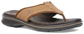 Hush Puppies Mens Tan Slippers & Flip-Flops