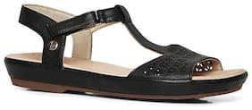 HUSH PUPPIES Women's Black Flats & Sandals _UK 3