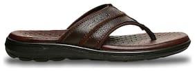 HUSH PUPPIES Men's Brown Slippers & Flip-flops-UK 8
