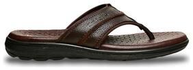 HUSH PUPPIES Men's Brown Slippers & Flip-flops-UK 6
