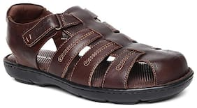 Hush Puppies Mens Brown Sandals & Floaters