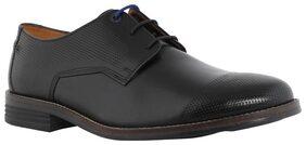 Hush Puppies Men Black Formal Shoes - 8246917