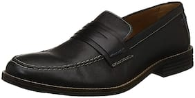Men Black Loafers ,Pack Of 1 Pair