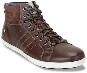 Id Men Brown Sneakers -