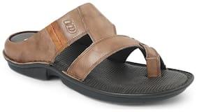 Id Men Brown Sandals