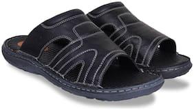Id Men Black Sliders - 1 Pair