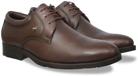 Id Men Brown Formal Shoes