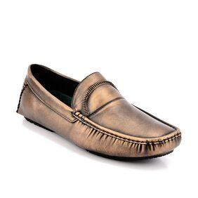 Id Men Gold Loafer
