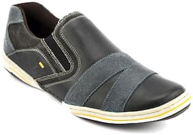 Id Men Grey Casual Shoes