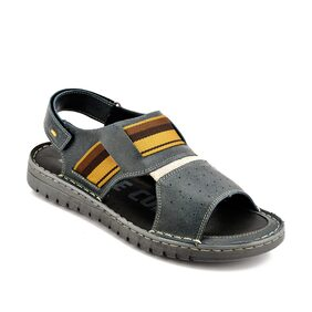 Id Men Grey Sandals & Floaters