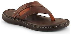 Id Men Brown Indoor Slippers - 1 Pair