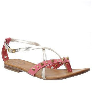 iLO Brown;Pink Sandals & Floaters
