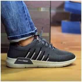 Enso Men Grey Running Shoes