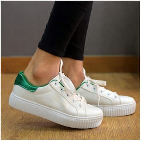Enso Women White Casual Shoes