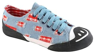 Enso Casual Shoes for Women - Blue
