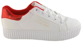 Enso Women's White Sneakers Shoes