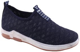 Enso Women's Blue Casual Shoes