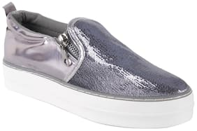 Enso Women's Grey Casual Shoes