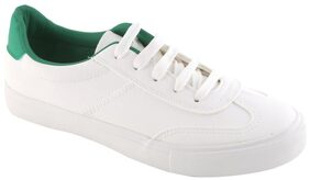 Enso Women's Green And White Sneakers Shoes