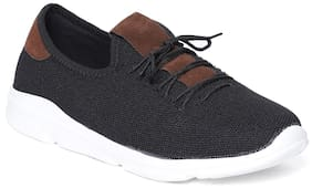 IMT Men Black Casual Shoes - 1058-01_BLK-BRN
