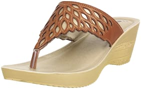 Inblu Women Tan Wedges