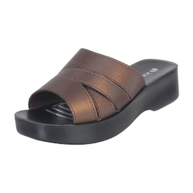 Inblu Women Copper Slippers