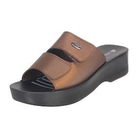 Inblu Mr06 Copper Women High Grade Pu Sandal