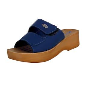Inblu Mr51 Blue Women High Grade Pu Sandal