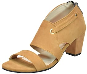 IndiForce Women Beige Sandals