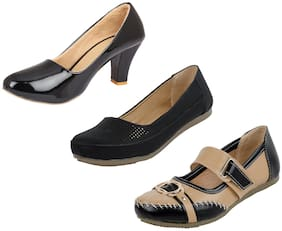IndiStar Womens Party Wear and Formal High Heel Bellies