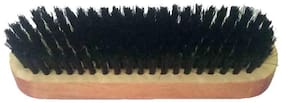 Indoselection black oval shoe shine brush
