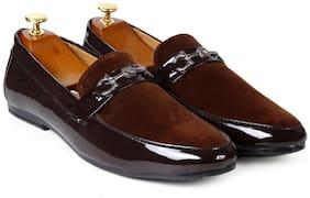 Inlazer Men Brown Loafers - 568-BROWN