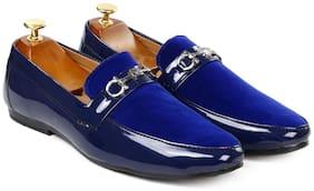 Inlazer Men Blue Loafers - 568-BLUE