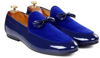 Inlazer Men Blue Loafers - 570-BLUE