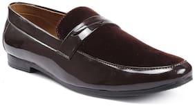 Inlazer Men Brown Loafers - 590-BROWN