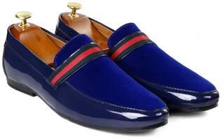 Inlazer Loafers For Men ( Blue )