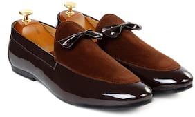 Inlazer Men Brown Loafers - 570-BROWN