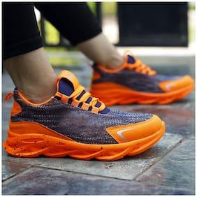 Inlazer Men Running Shoes ( Orange )